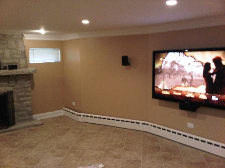 construction of Elgin Illinois home remodeling and renovation project picture