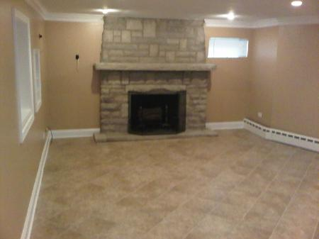 basement remodeling of Lake Zurich Illinois home remodeling and renovation project picture